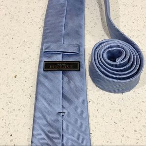 Jos. A. Bank Accessories - Jos A Bank Reserve Light Blue Silk Skinny Tie EUC